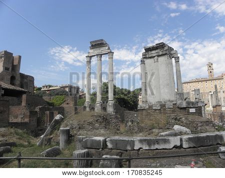 the Imperial Forums: nerve center of ancient Rome
