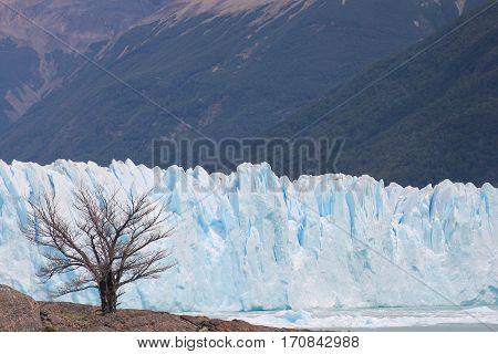 Glaciar Perito Moreno en la Patagónia argentina