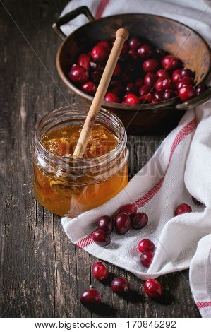 Honey And Cranberries