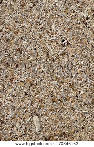 osb - oriented strand board or qsb - quality strand board chipboard texture or chipboard background with copy space for text or image.