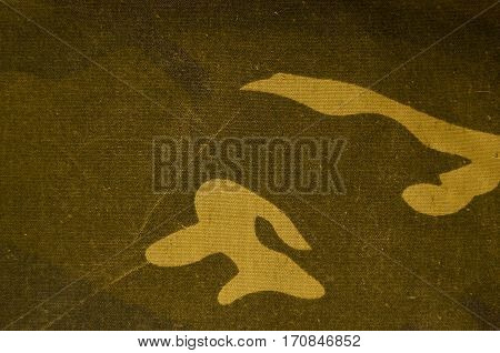 Textile Camouflage Cloth Texture