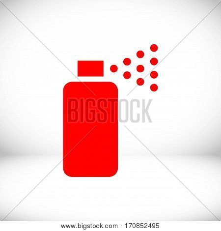spray icon stock vector illustration flat design