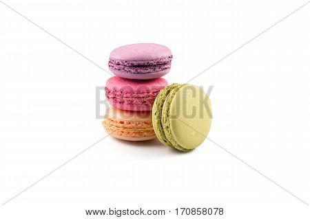 Colorful Homemade Macaroons