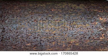 Weathered Rust Metal Texture