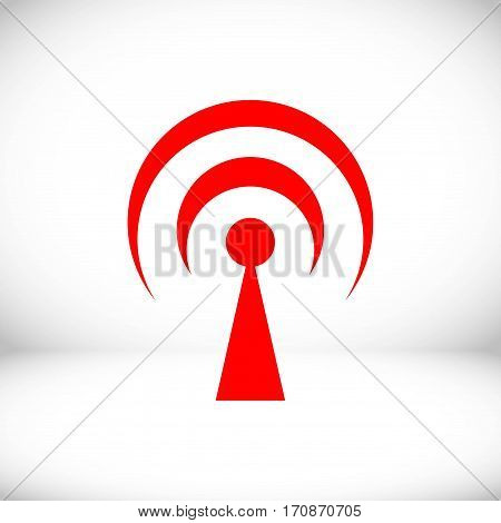 wifi icon stock vector illustration flat design