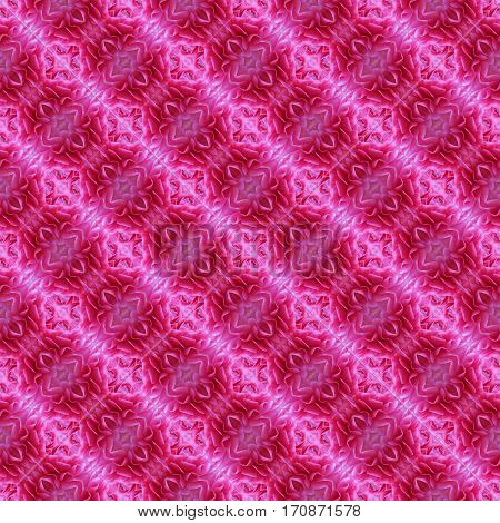 Charming Pink pattern of buttercup petals. Infinity pattern. Seamless background.