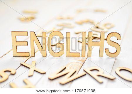 Wood Word English