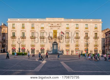 Building The University Of Catania