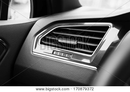 Air Ventilation Grille With Power Regulator
