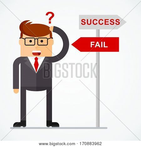 Business Character Direction