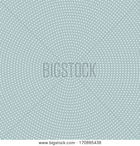 Seamless geometric pattern. Modern ornament with white stars
