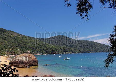 Beach of Aracatiba in Ilha Grande, Rio de Janeiro - Brazil