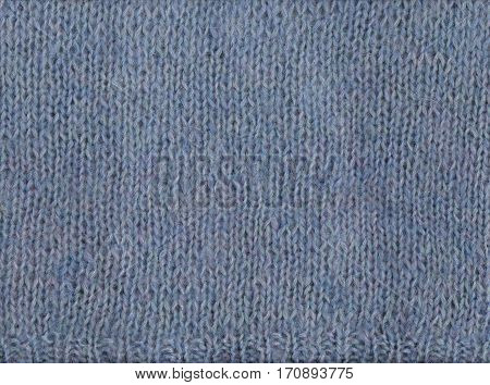 Sweater made of wool. Texture of knitted fabric. Cold weather background.