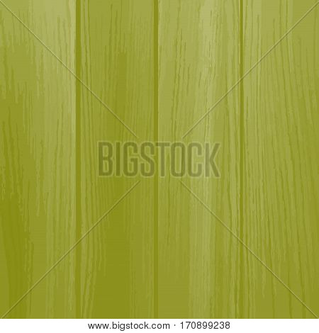Wooden green texture, empty background. Natural wooden texture with vertical planks.