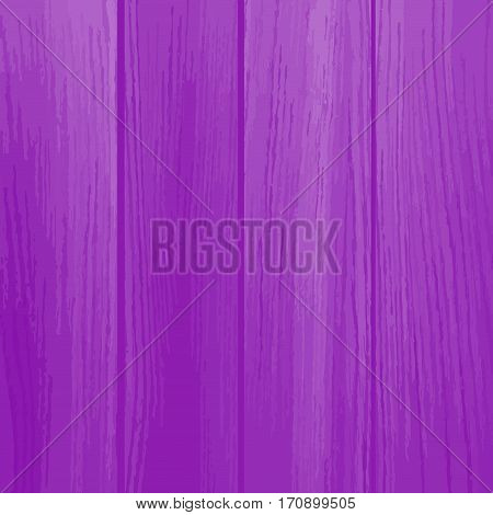 old dirty wooden wall, purple background, vector. Old painted wood wall. Wooden planks texture for your design. Shabby chic background.