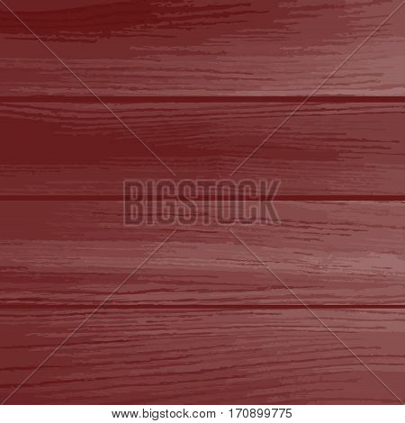 Realistic redwood wooden floor seamless pattern, vector. Natural wooden texture with vertical planks.
