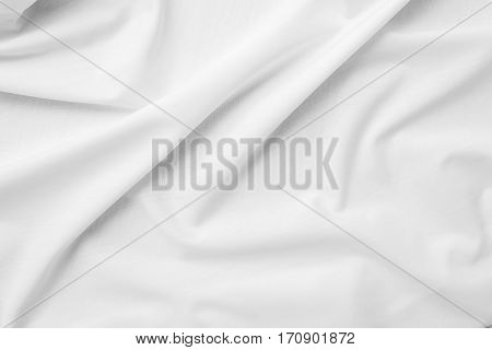 white background fabric textile canvas material surface fashion design satiny wallpaper soft backdrop silky natural cloth silk concept - stock image