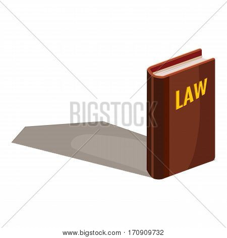 Code of laws icon. Cartoon illustration of code of laws vector icon for web