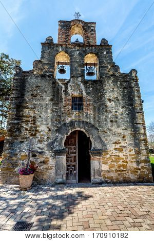 The Historic Spanish Mission Espada, Texas