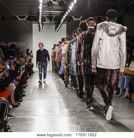New York Fashion Week Fw 2017 - Custo Barcelona Collection