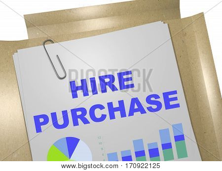 Hire Purchase - Business Concept