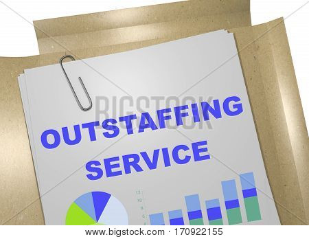 Outstaffing Service - Business Concept