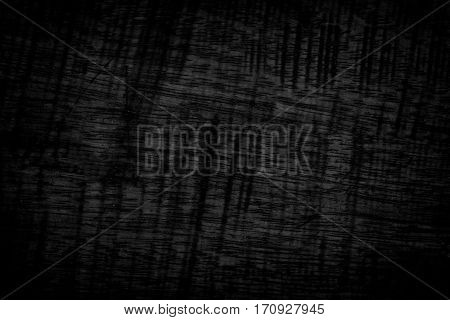 Black Grunge Texture Background. Wood Grunge Texture On Distress Wall In The Dark. Dark Grunge Textu