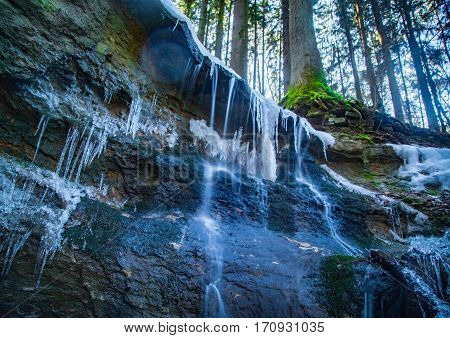 The Melodious Waterfall Near Lauf A.d. Pegnitz, Germany