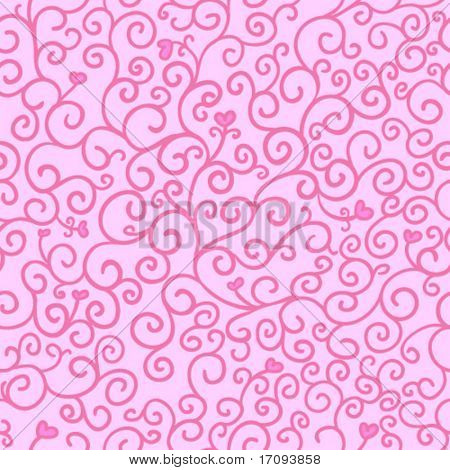 Love pattern in vector