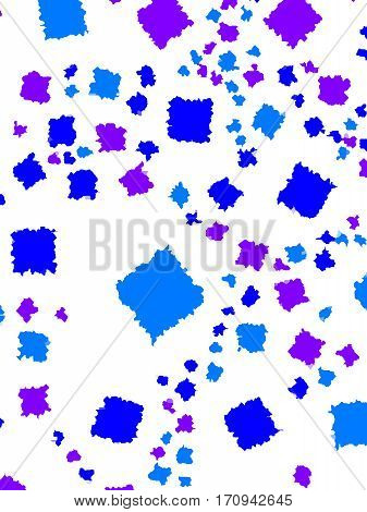 Abstract Background With Flat Pixels. Pattern For 2-d Concept.