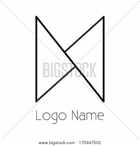 n letter logo 100% vector fully editable and re sizable suitable for which letter is beginning with letter n or as symbol