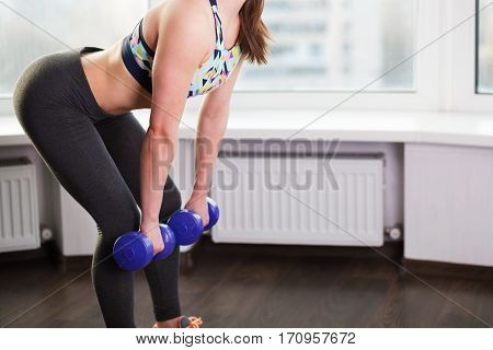 Woman Woking Out