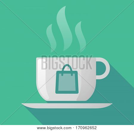 Long Shadow Mug With A Shopping Bag