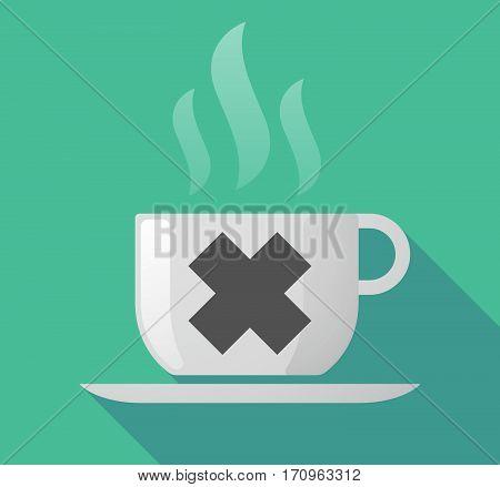 Long Shadow Mug With An Irritating Substance Sign