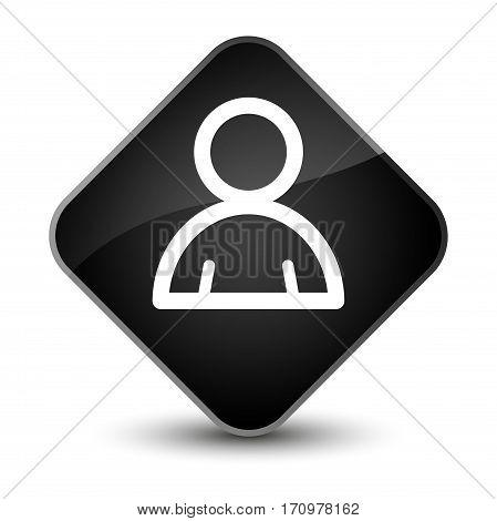 Member Icon Special Black Diamond Button
