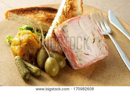 Pork Roulade Dish