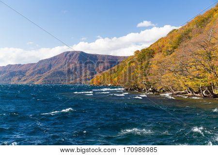 Lake towada in japan