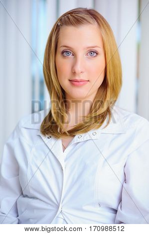 Young Woman Of The Future Doctor