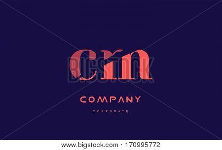 M C Cm Company Small Letter Logo Icon Design