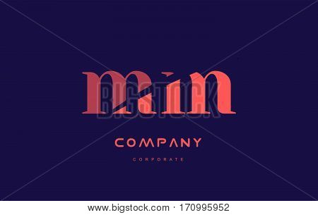 M M Mm Company Small Letter Logo Icon Design