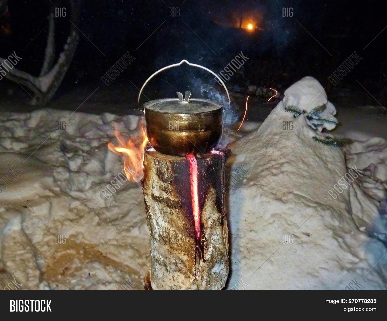 Food Pot Prepared On