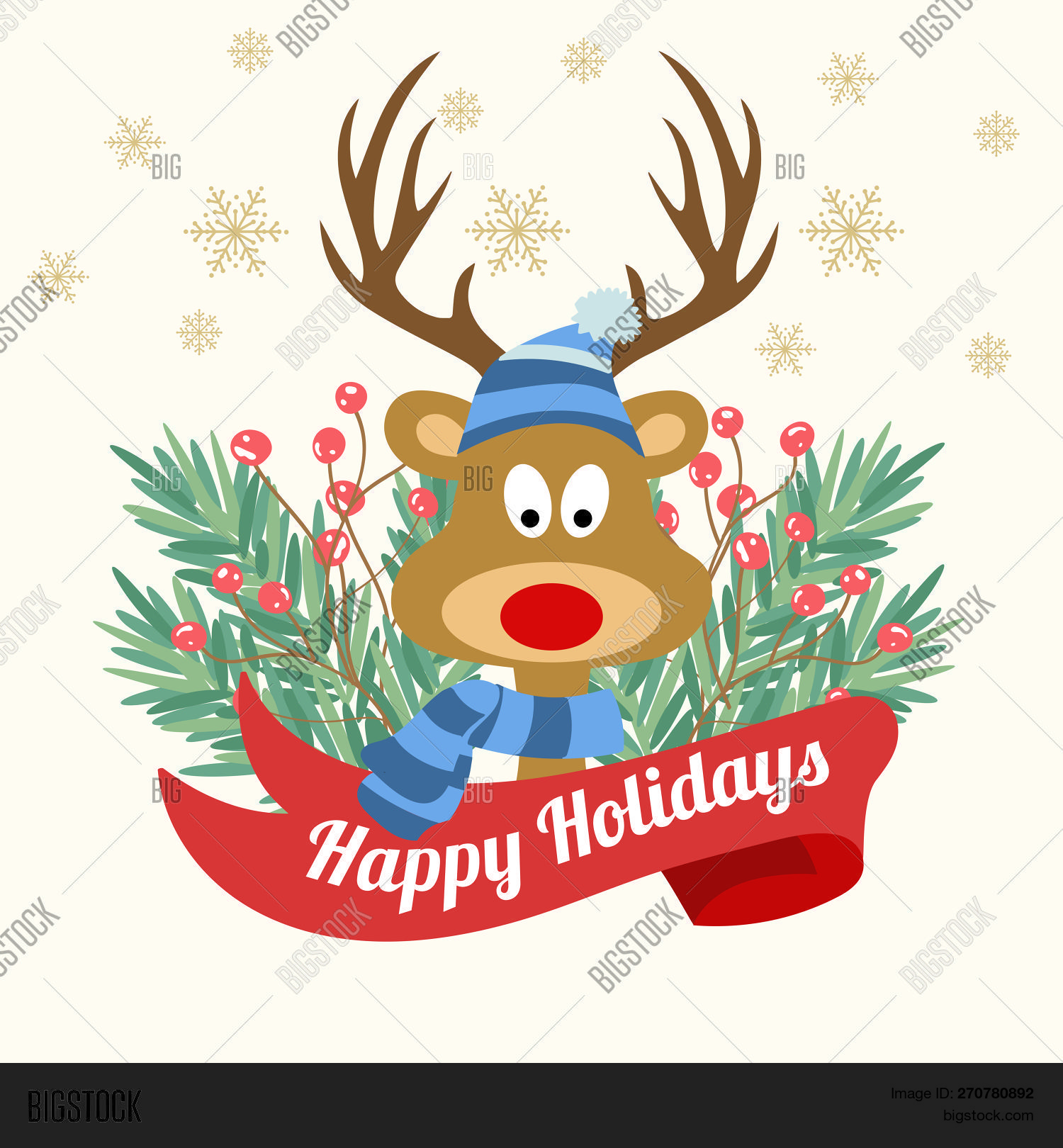 Funny Christmas Card Vector \u0026 Photo (Free Trial)