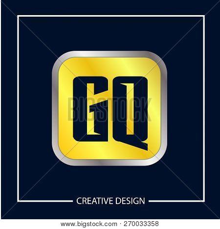 Initial Letter Gq Logo Template Vector Design
