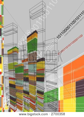 Architecture Abstract Graphic (Vector)