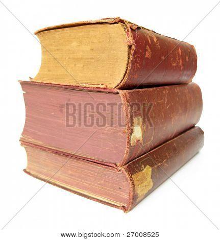 Three old books