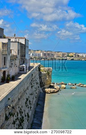 Travel In The Small Towns Of Puglia: Otranto In Italy
