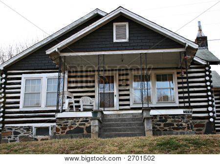Older Log Home