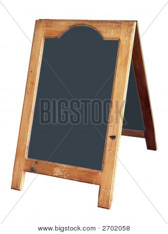 A-Frame Notice Board