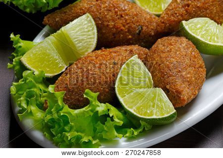 Fried kibble with lemon, Quibe