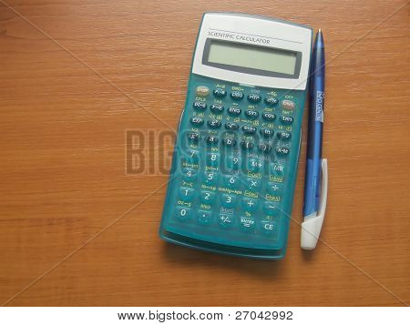 modern scientific calculator